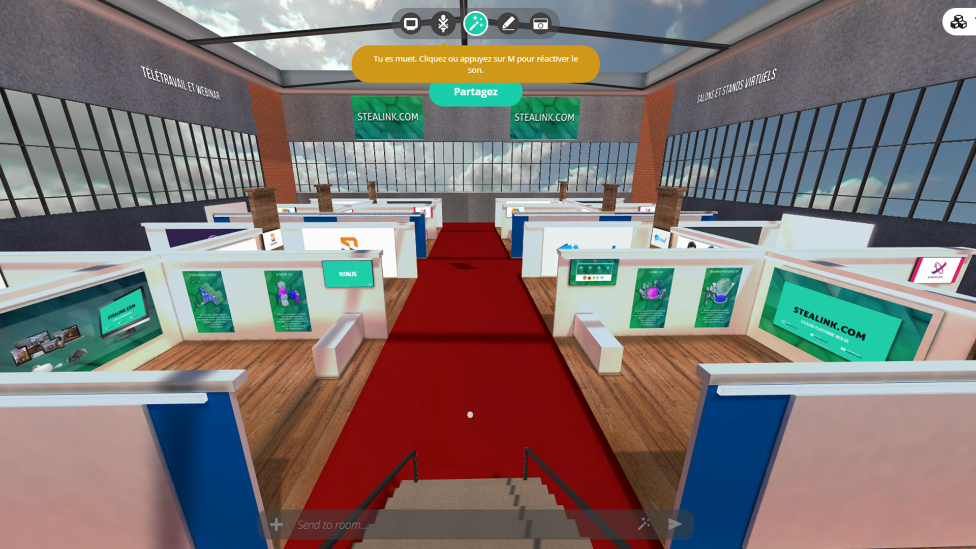 STEALINK.COM full-exhibtion Salon virtuel de l'orientation