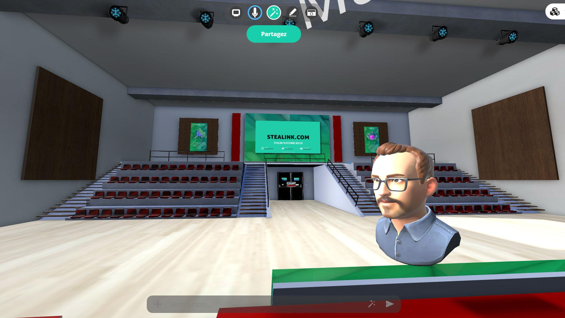 STEALINK.COM SalleDeReunionVirtuelle001 Salon virtuel de l'orientation