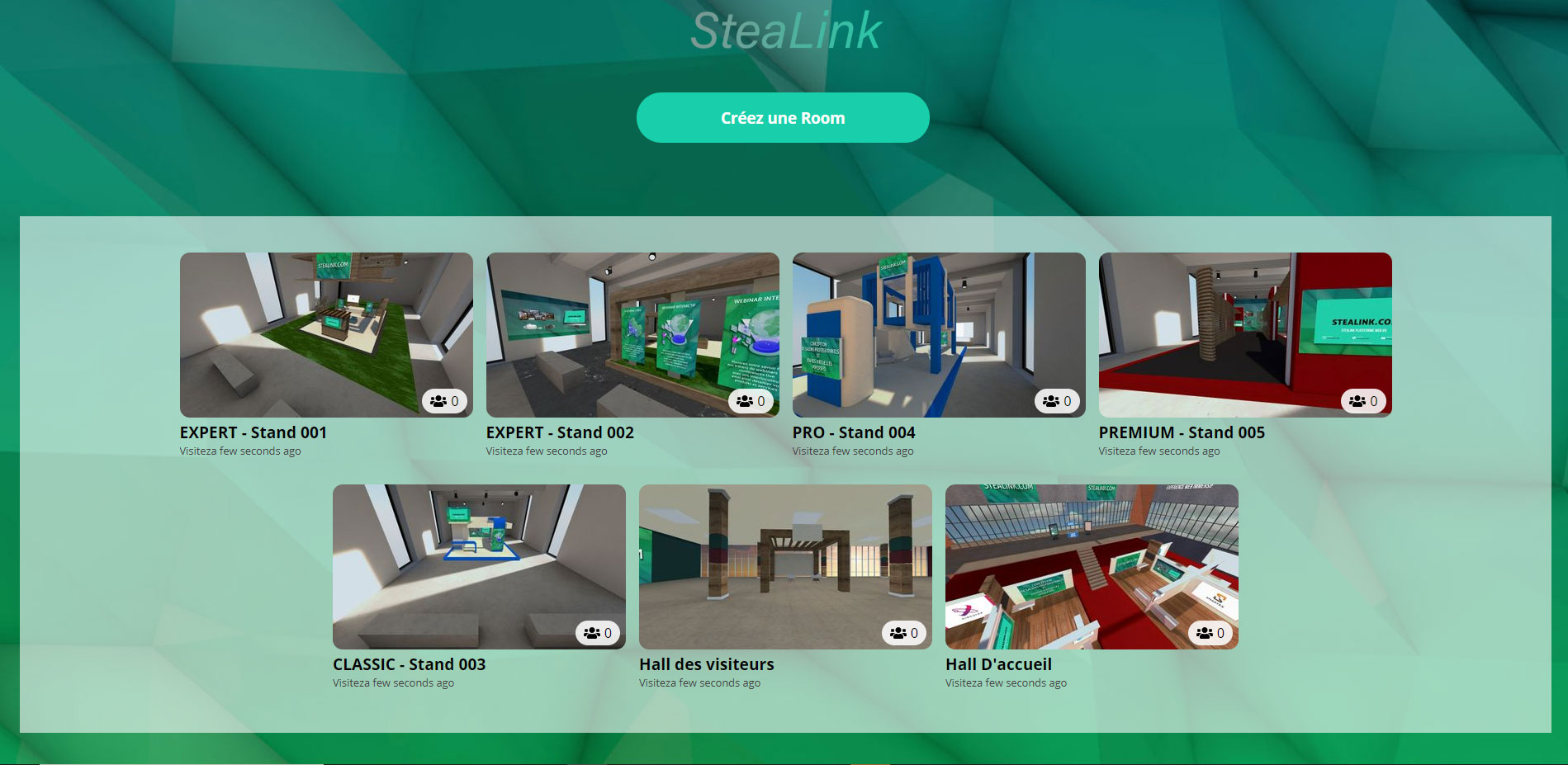 STEALINK.COM StandVirtuel Festival de musique virtuel