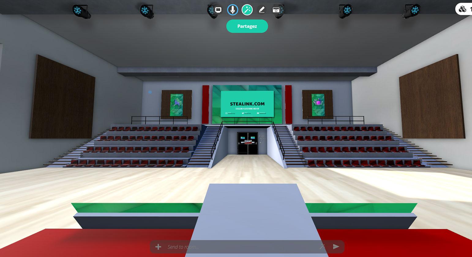STEALINK.COM salle-de-conference-virtuelle Salle de réunion virtuelle, une alternative ludique