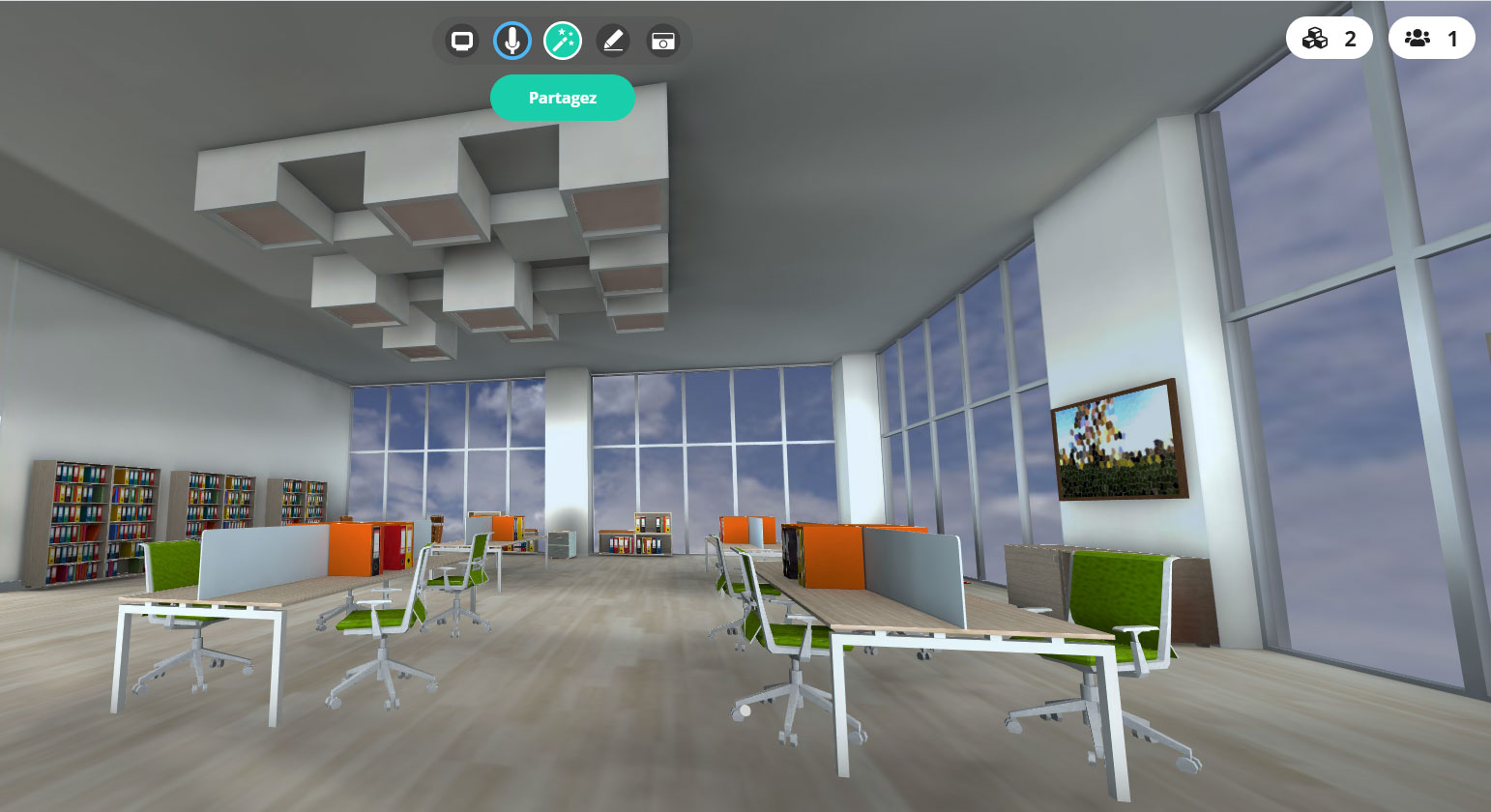 Classe virtuelle 3D