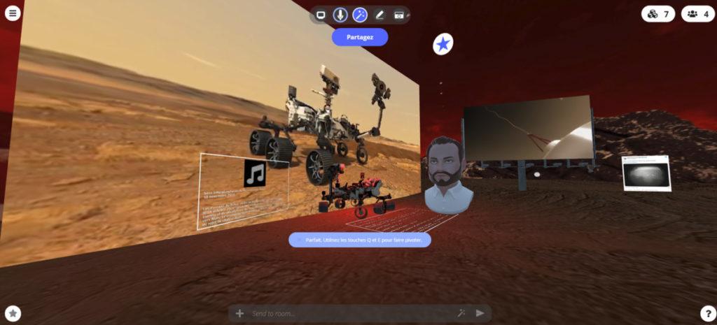 STEALINK.COM 002-1024x465 Atterrissage de Perseverance sur Mars en VR sur le web