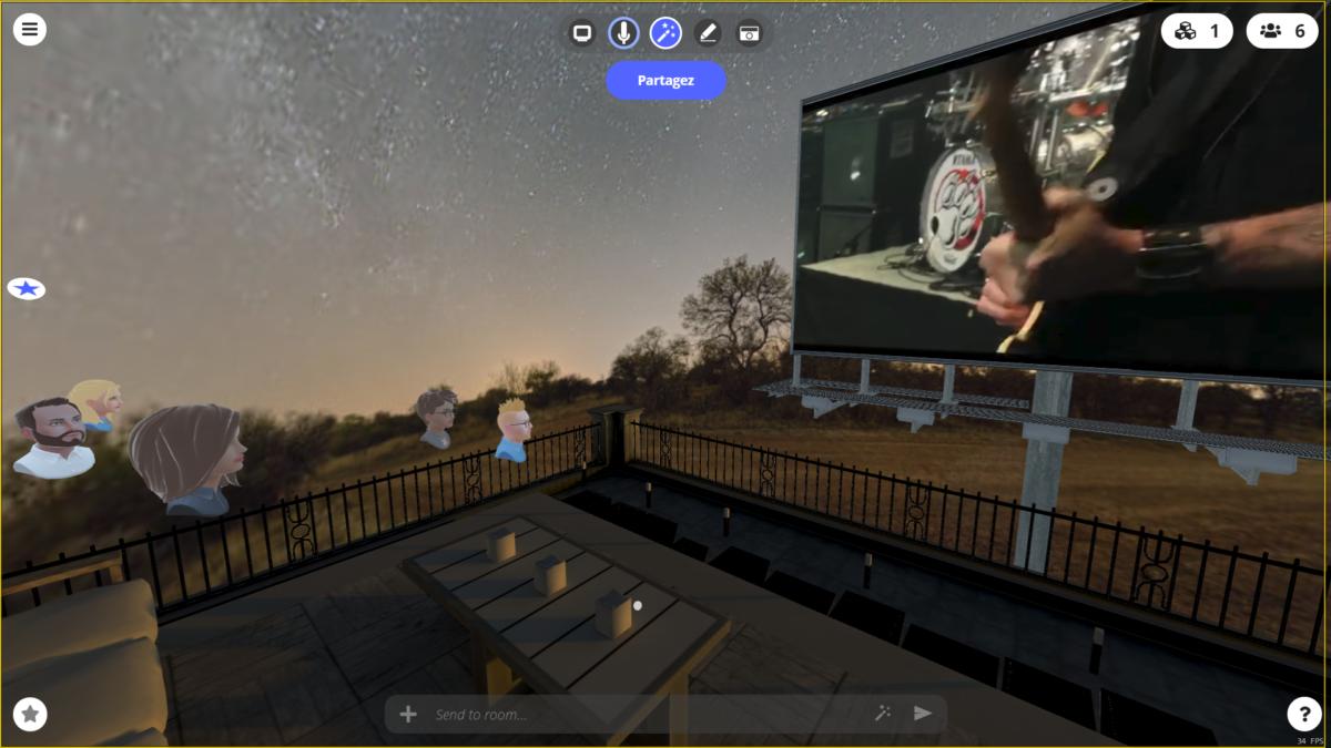 STEALINK.COM capture-room-concert-terrasse-3 Festival de musique virtuel