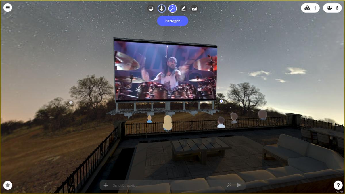 Festival et concert Virtuel
