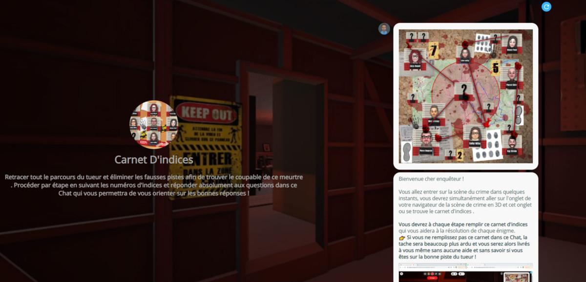 STEALINK.COM captureEcran002 Team building Entreprise : escape game virtuelle